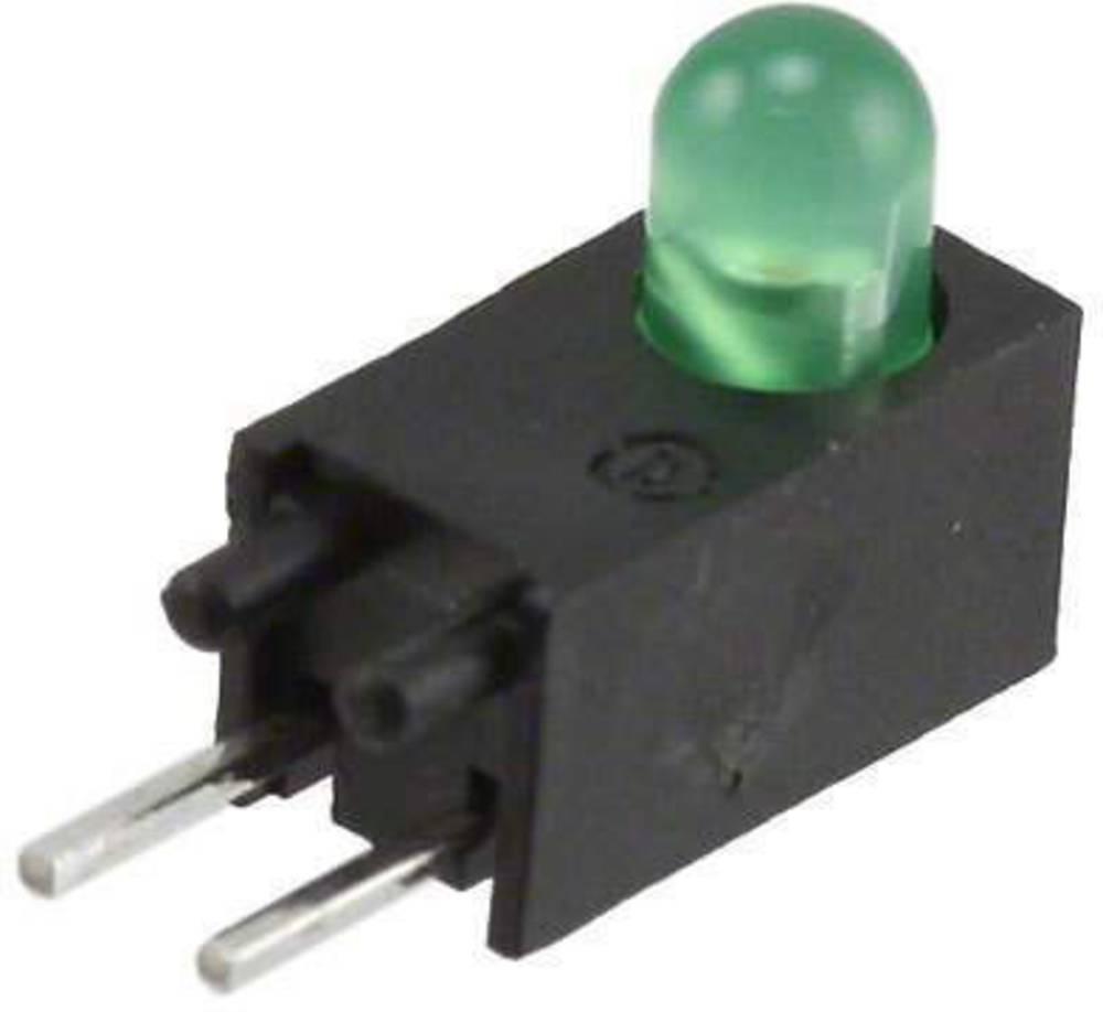 LED-komponent Dialight (L x B x H) 12.28 x 8.2 x 4.6 mm Grøn