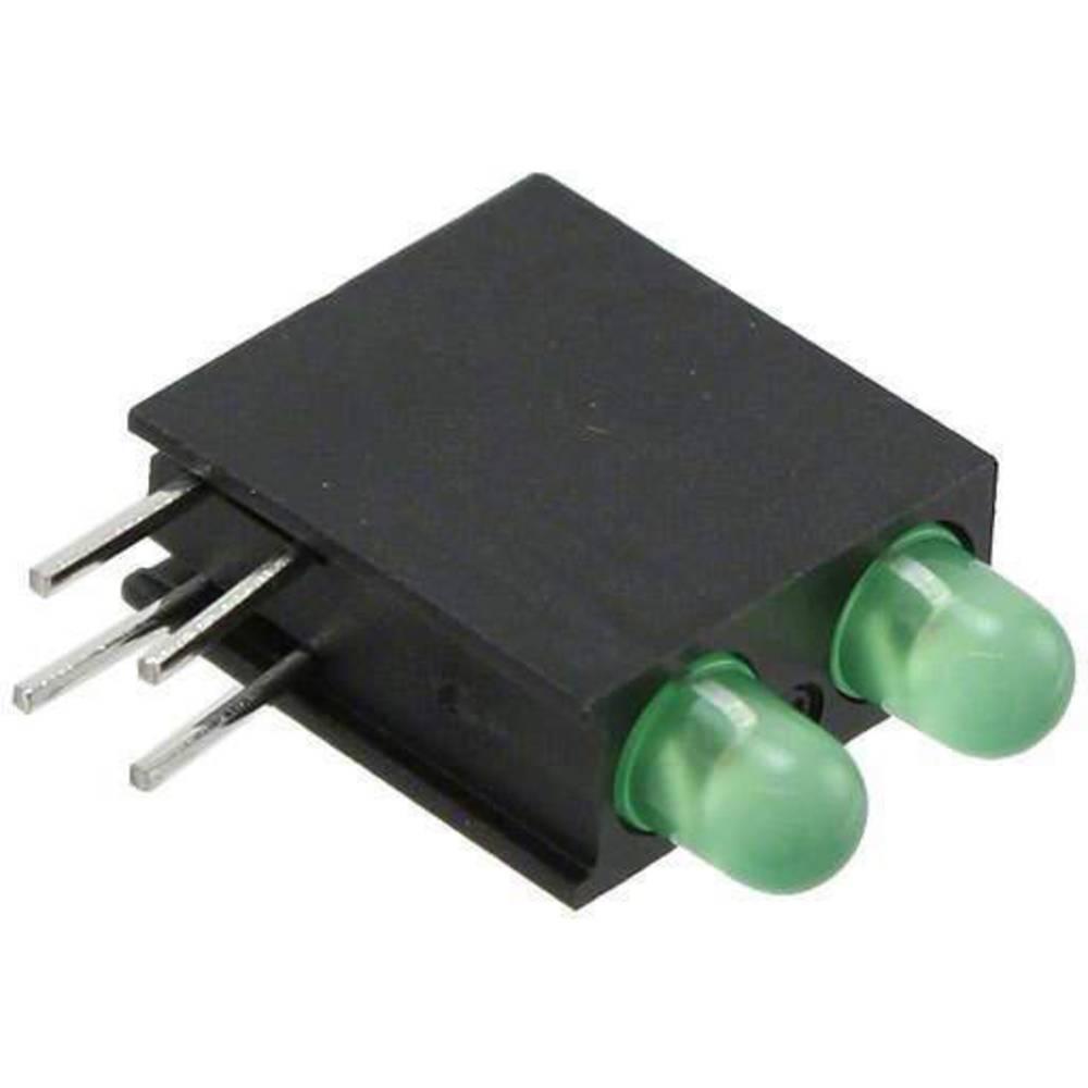 LED-komponent Dialight (L x B x H) 14.06 x 13.33 x 4.32 mm Grøn