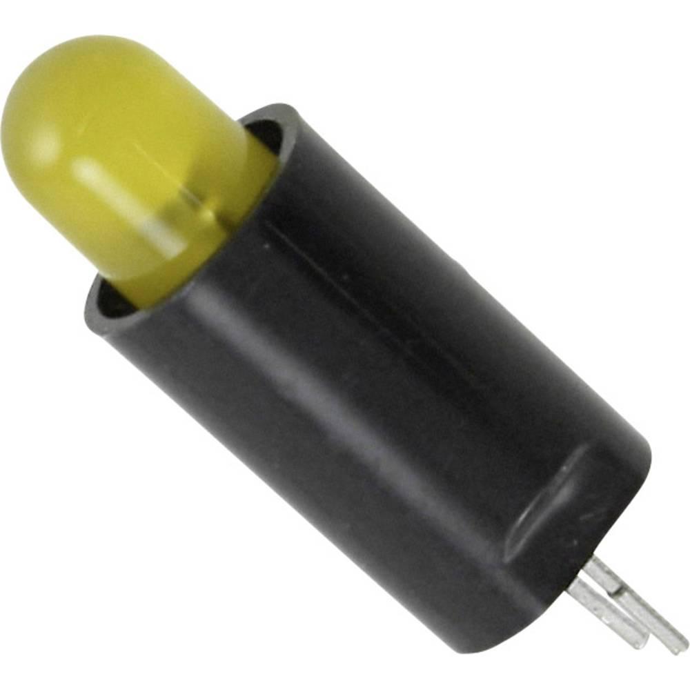 LED-komponent Dialight (L x B x H) 21.48 x 7.14 x 7.14 mm Gul