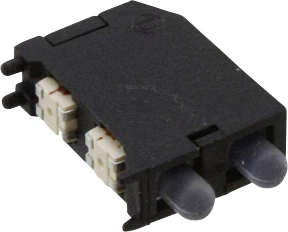 LED-komponent Dialight (L x B x H) 16.89 x 11.56 x 4.57 mm Rød, Grøn, Gul