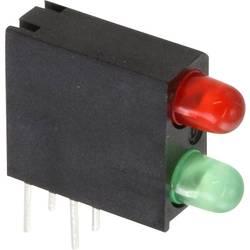 LED-komponent Dialight (L x B x H) 14.06 x 13.33 x 4.32 mm Grøn, Rød