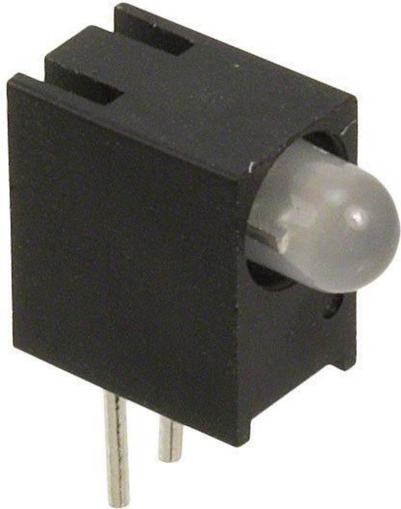 LED-komponent Dialight (L x B x H) 10.79 x 8.76 x 4.44 mm Blå , Grøn