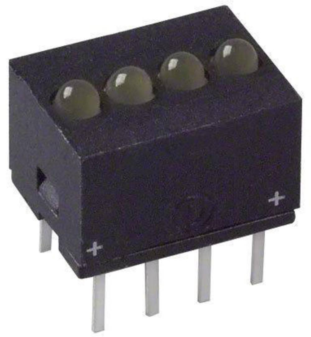 LED bånd Dialight (L x B x H) 10.29 x 10.17 x 7.77 mm Gul
