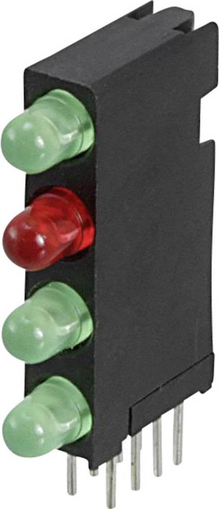 LED-komponent Dialight Grøn, Rød