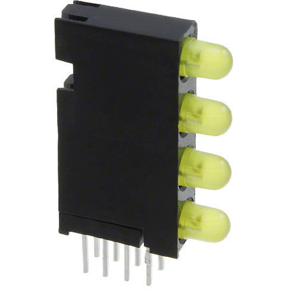 LED-komponent Dialight Gul
