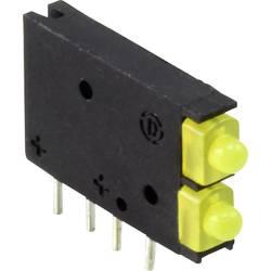 LED-komponent Dialight (L x B x H) 15.45 x 11.61 x 2.5 mm Gul