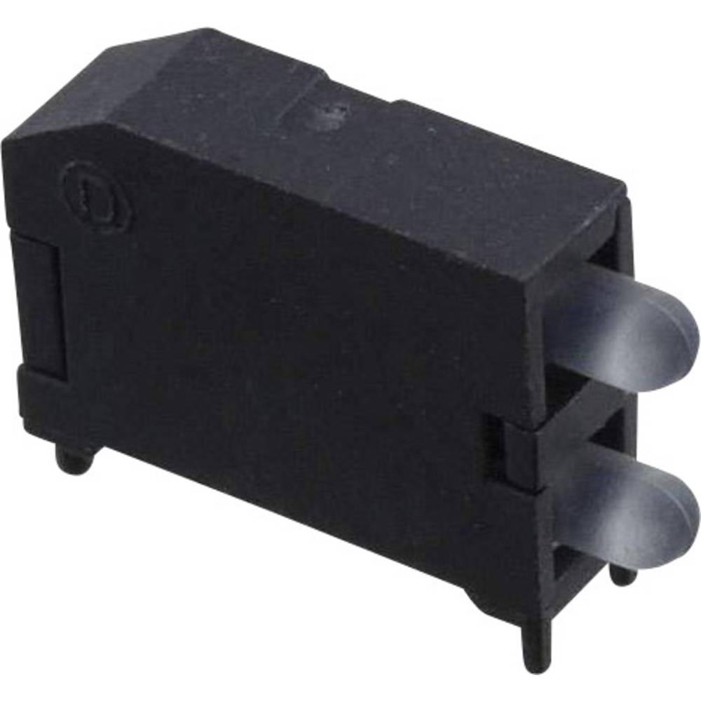 LED-komponent Dialight (L x B x H) 16.89 x 11.56 x 4.57 mm Rød, Grøn, Blå