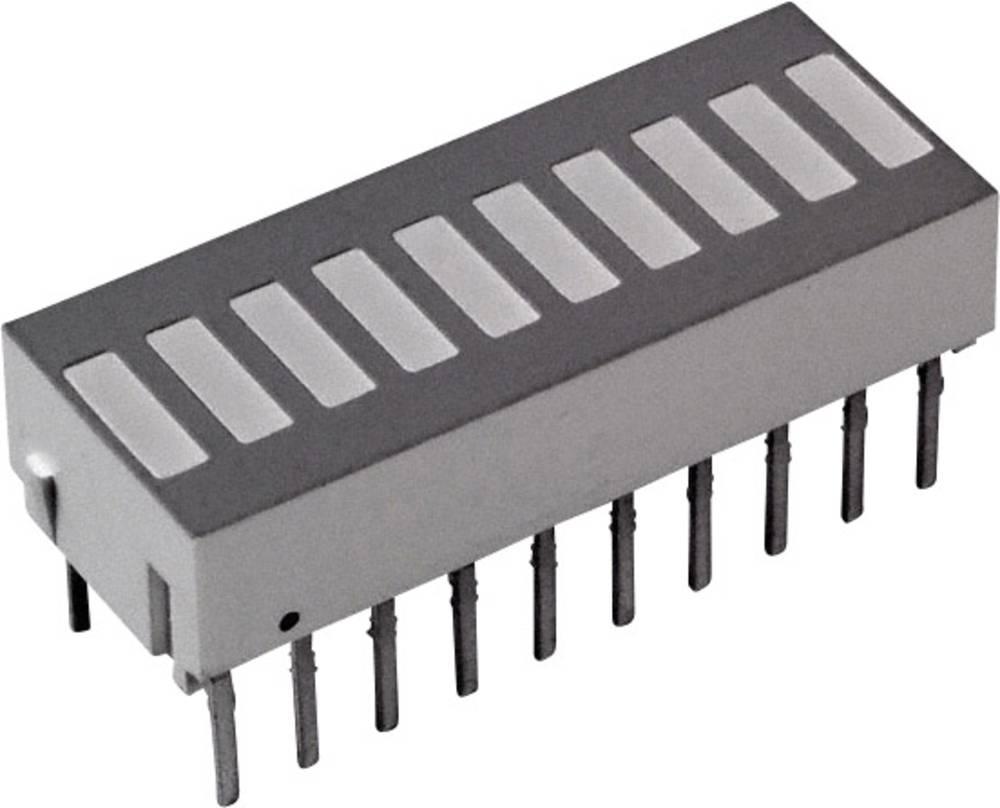 LED-søjlediagram Broadcom (L x B x H) 25.4 x 10.16 x 9.14 mm Grøn, Rød, Gul