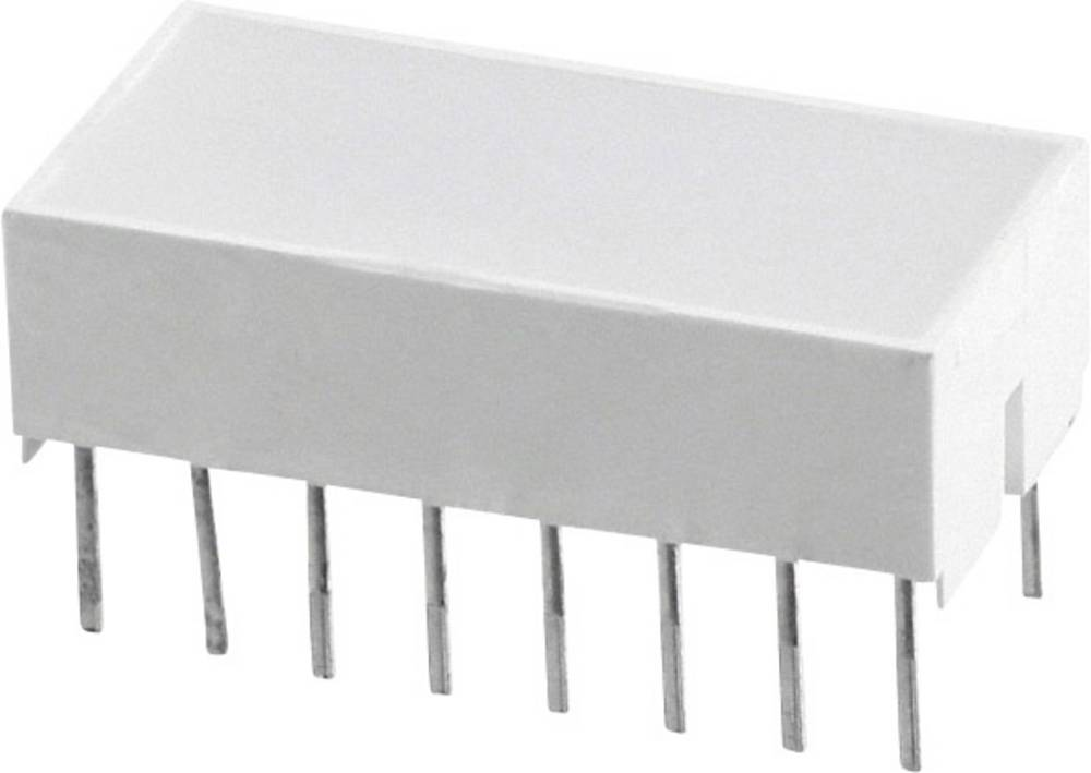 LED-komponent Broadcom (L x B x H) 20.32 x 10.28 x 10.16 mm Rød
