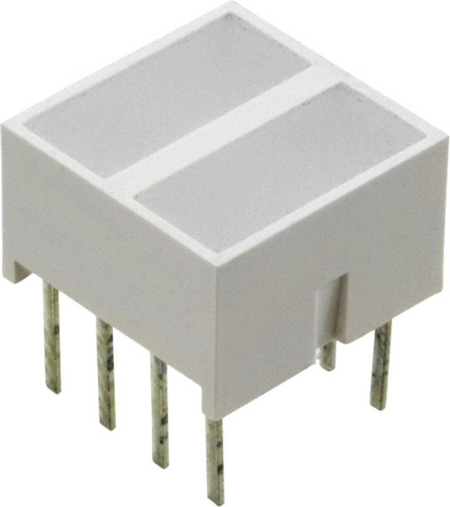 LED-komponent Broadcom (L x B x H) 10.28 x 10.16 x 10.16 mm Gul