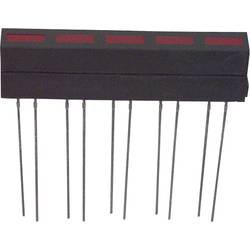 LED-komponent LUMEX (L x B x H) 35.5 x 33.4 x 6.1 mm Rød