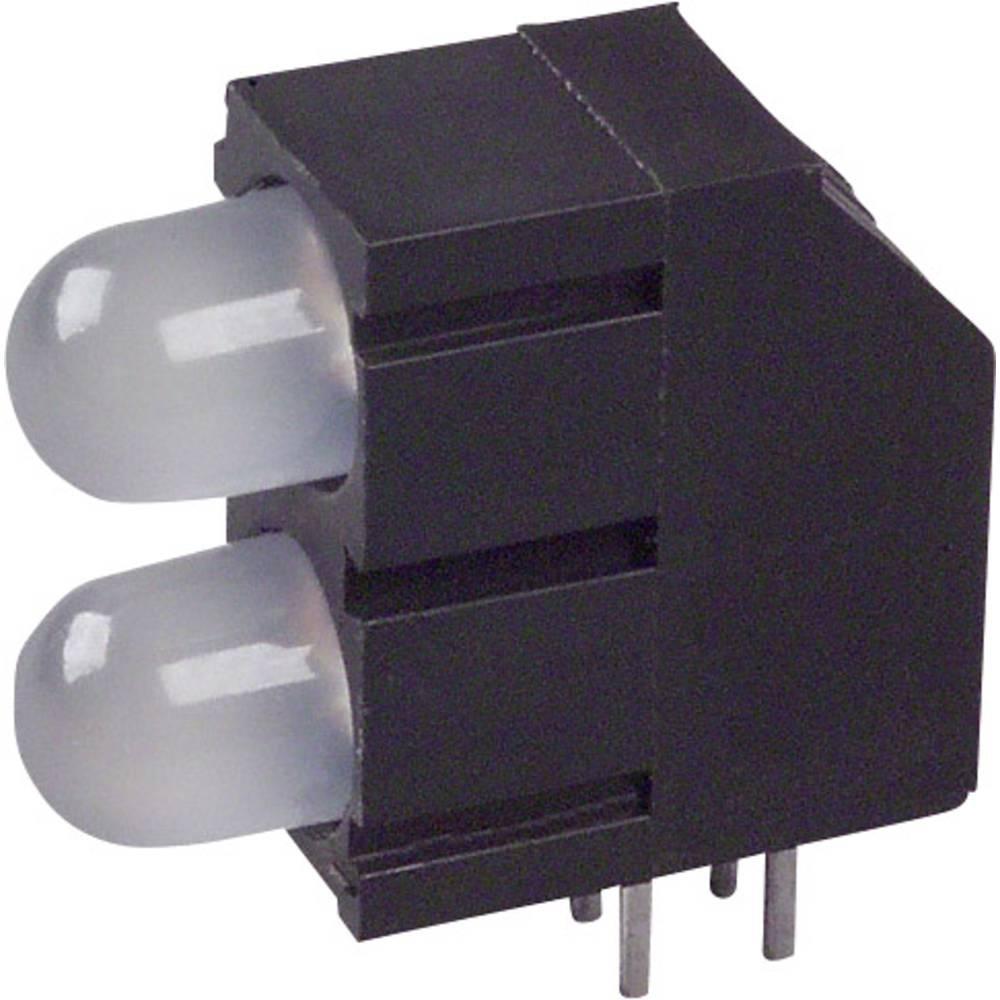 LED-komponent LUMEX (L x B x H) 15.81 x 15.8 x 6.6 mm Grøn, Rød