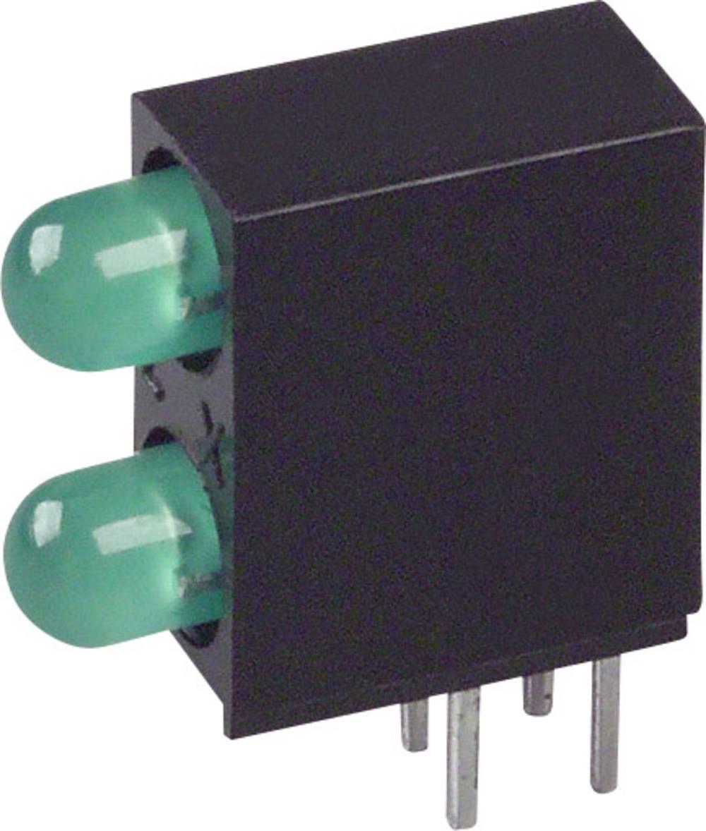 LED-komponent LUMEX (L x B x H) 12.83 x 10.77 x 4.32 mm Grøn