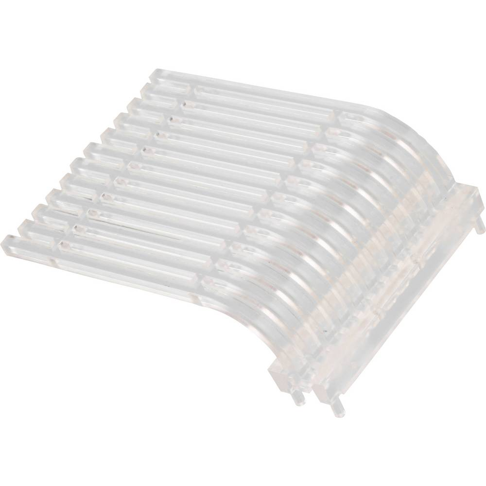Optična vlakna Dialight 515-1045F primerno za: MicroLED SMT LEDs 1-vrstica/12-krat 2.54 mm x 2.54 mm