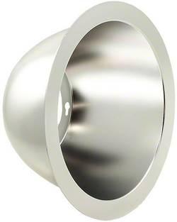 LED reflektor, mat, kovinski (brušen) za LED: LMH2 LED modul,e CREE LMH020-REFL-0000-0000062