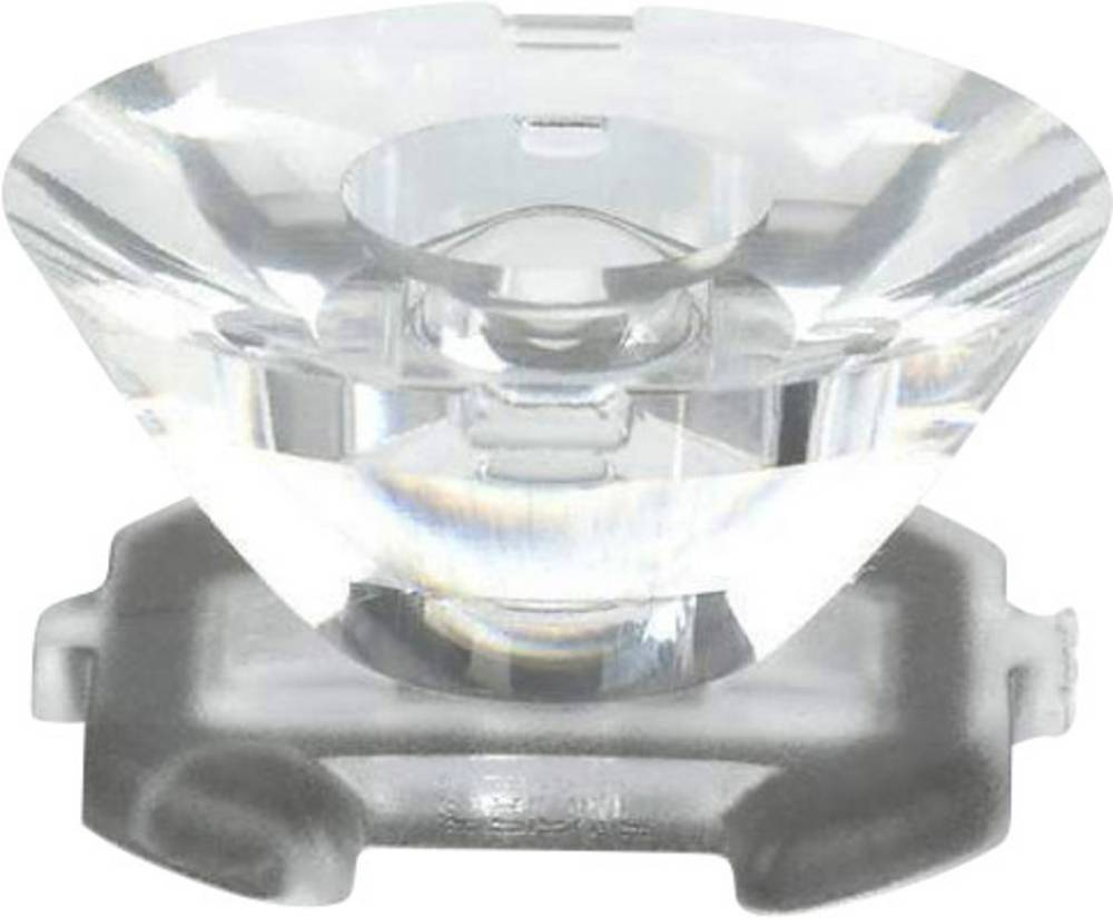 Pokrovna leća, prozirna 3 ° za LED: LUXEON K2 LED-serijska Dialight OPK2-1-003