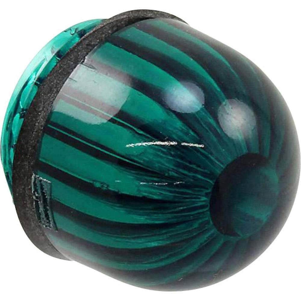 LED pokrovček, zeleni, prozoren Dialight 052-3192-003