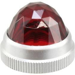 LED poklopac, crveni, proziran Dialight 103-1331-403