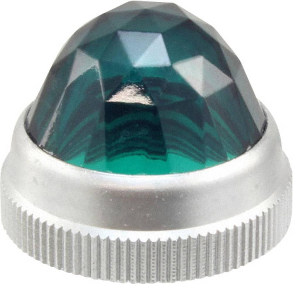 LED poklopac, zeleni, proziran Dialight 103-1332-403