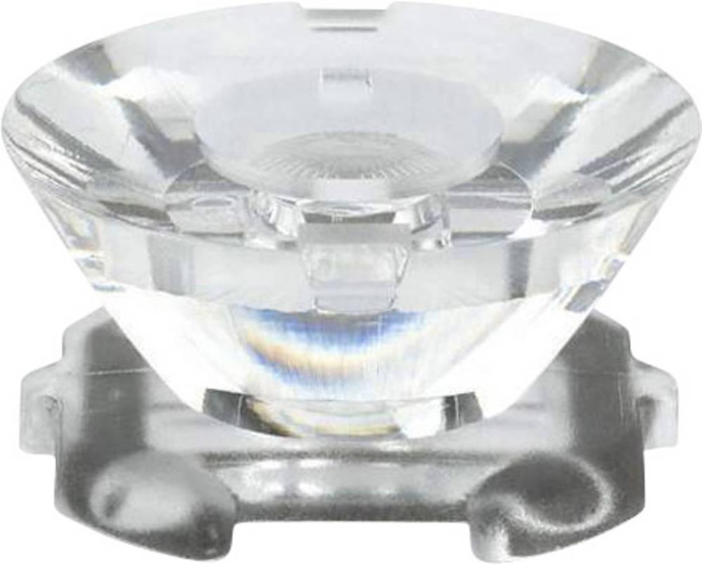 Pokrovna leća, čista prozirna 2 ° za LED: Osram Golden Dragon® LED-serijska Dialight OPG-D1002