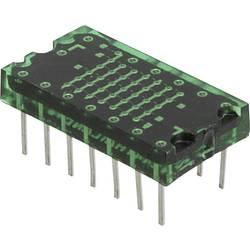 Punkt-matrix-display Lite-On 7.62 mm 2.1 V Grøn
