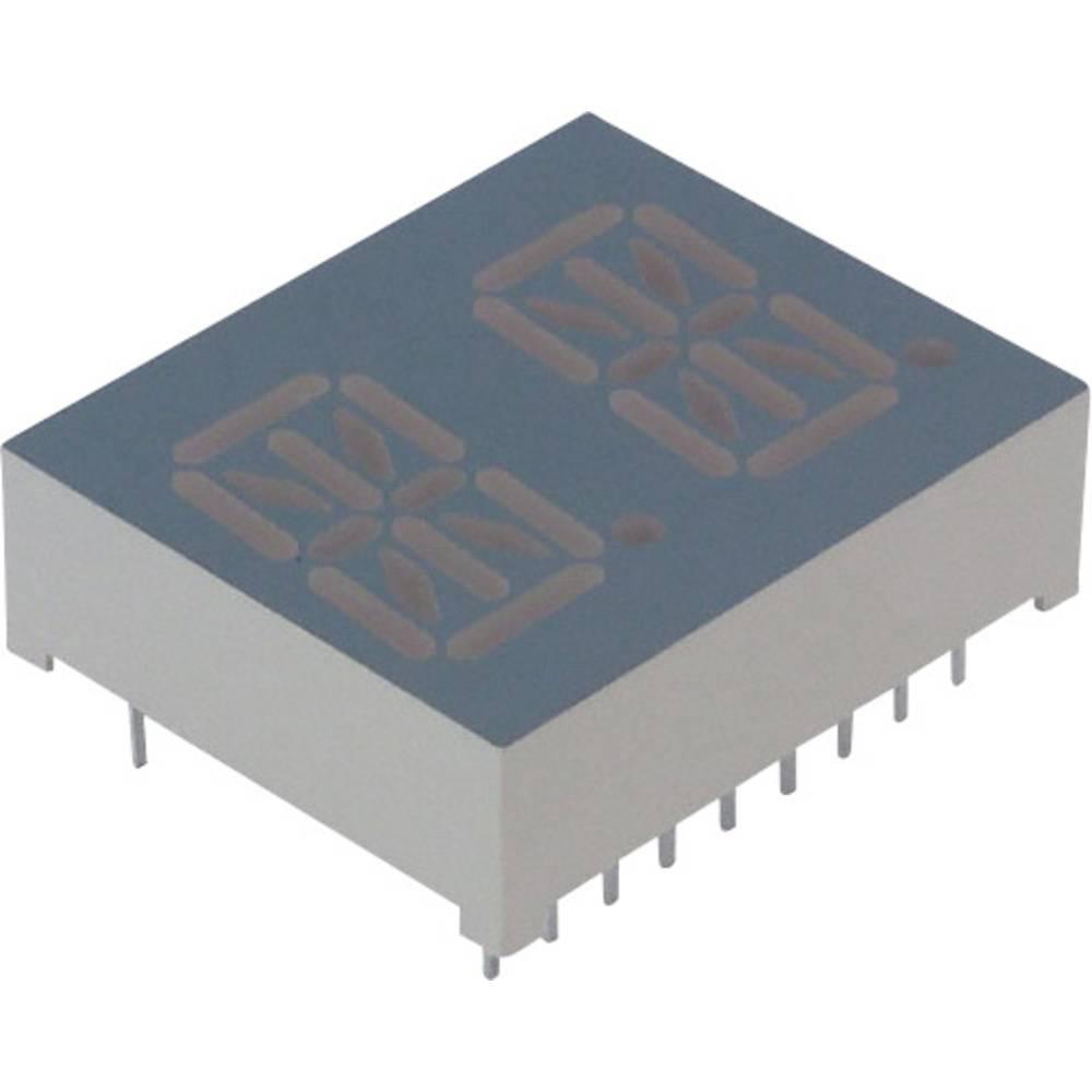 Alfanumeriske segment-display Lite-On 13.8 mm 2.1 V Grøn