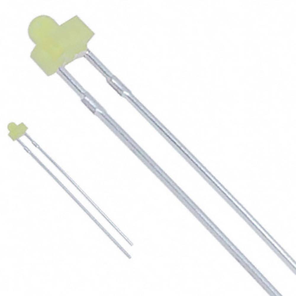 LED med ledninger Lite-On 1.8 mm 12.6 mcd 38 ° 20 mA 2.1 V Gul