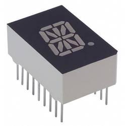 Alfanumeriske segment-display Lite-On 12.7 mm 2.1 V Gul