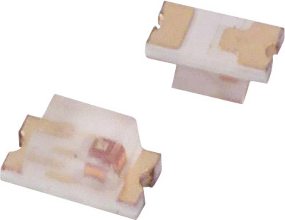 SMD LED Lite-On LTST-C190CKT 1608 10 mcd 130 ° Rød