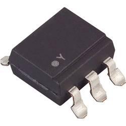 Optokobler fototransistor Lite-On CNY17-2S SMD-6 Transistor med basis DC