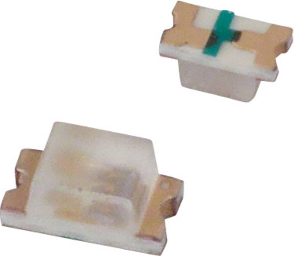 SMD LED Lite-On LTST-C190KAKT 1608 80 mcd 130 ° Rød