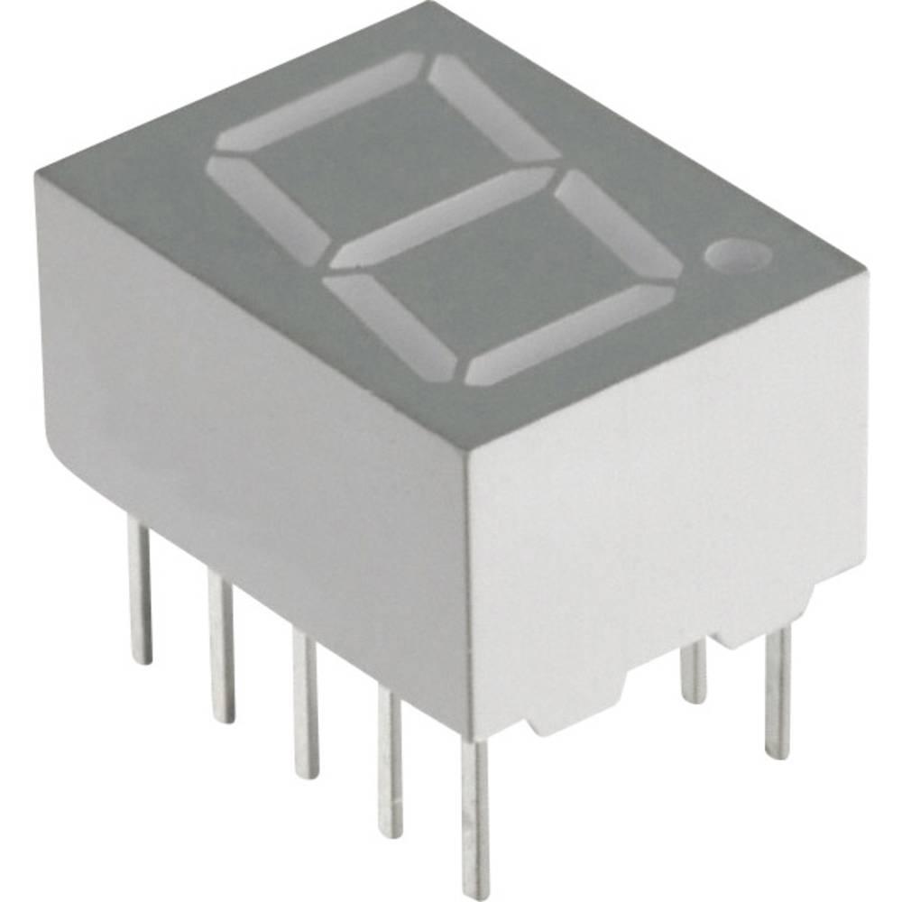 7-segmentsvisning Lite-On 10 mm 3.8 V Blå