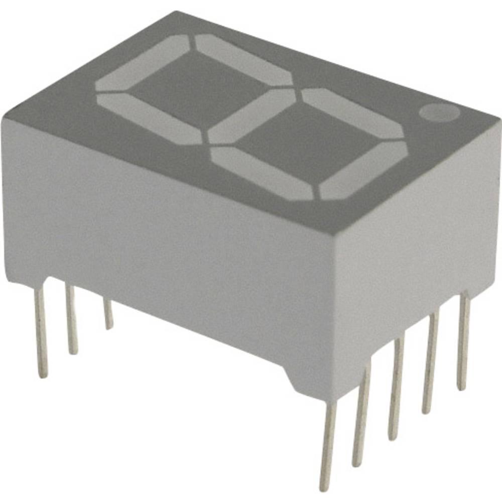 7-segmentsvisning Lite-On 14.22 mm 3.8 V Blå