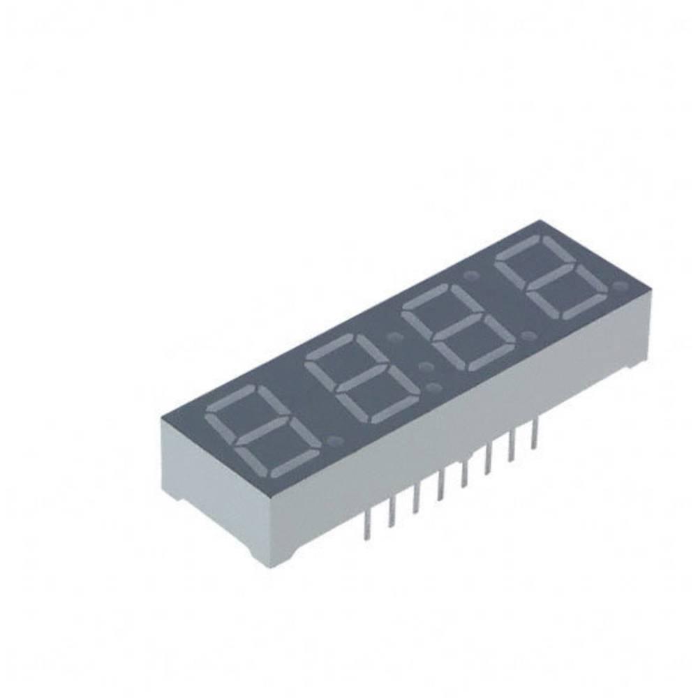 7-segmentsvisning Lite-On 10 mm 2.05 V Orange/gul