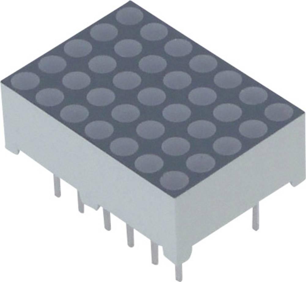 Punkt-matrix-display Lite-On 17.22 mm 2 V Rød