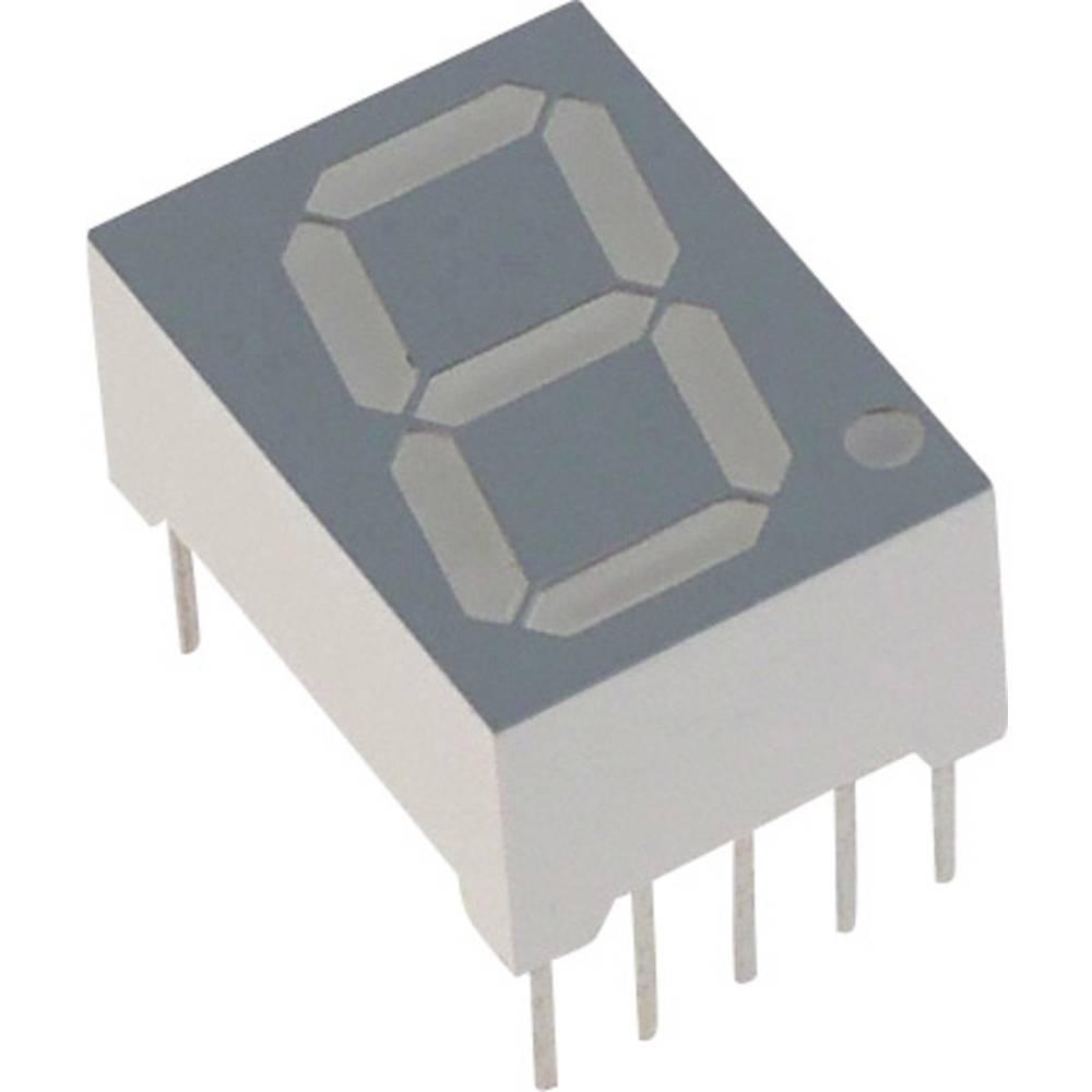 7-segmentsvisning Lite-On 14.22 mm 2.1 V Rød