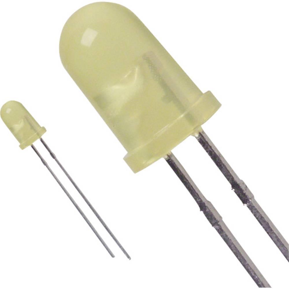 LED med ledninger Lite-On 5 mm 29 mcd 50 ° 20 mA 2.1 V Gul