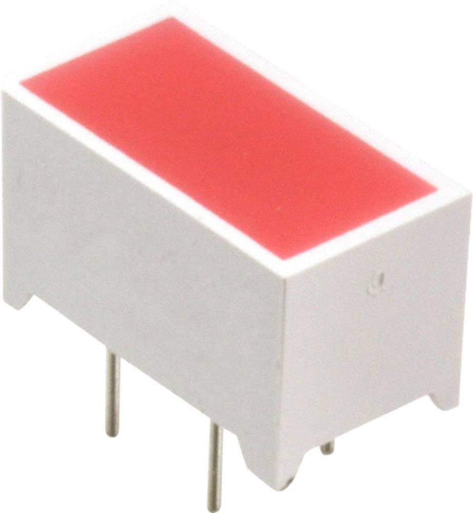 LED-komponent Lite-On (L x B x H) 13.97 x 11.76 x 7.49 mm Rød