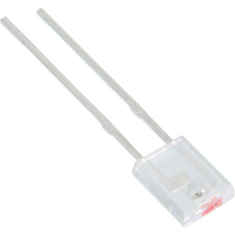 IR oddajnik 940 nm 40 ° 4.45 x 5.72 mm pravokotna oblika, radialno ožičen Lite-On LTE-302-M