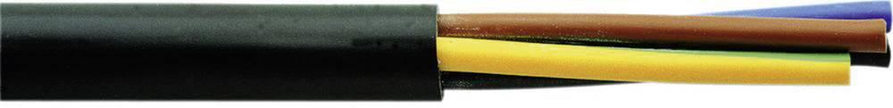 Gumirani vodnik H05RR-F 2 x 1.5 mm črne barve Faber Kabel 050021 meterski
