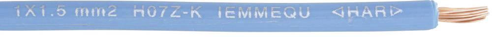 Finožični vodnik H07Z-K 1 x 4 mm temno modre barve barve Faber Kabel 040331 100 m