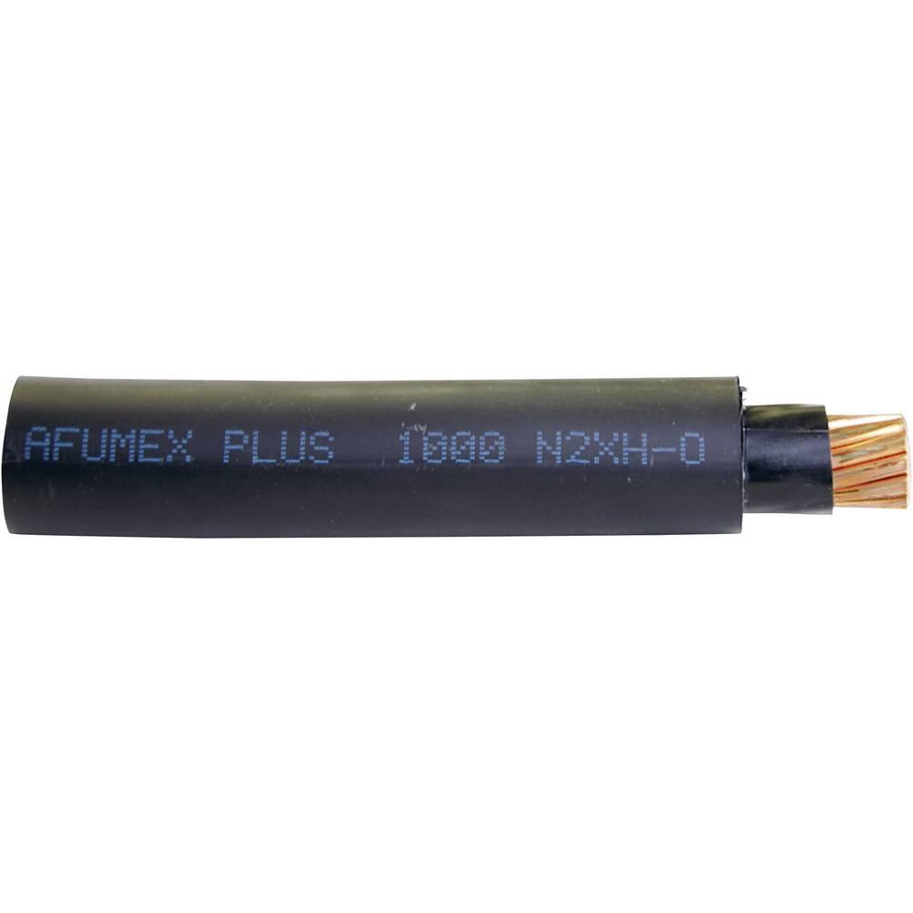 Visokonapetostni kabel AFUMEX plus 1000 N2XH 3 x 2,5 mm, črne barve, meterski Faber kabel