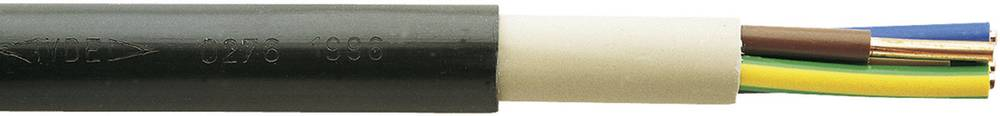 Visokonapetostni kabel NYY-J 4 x 1.5 mm črne barve meterski Faber kabel