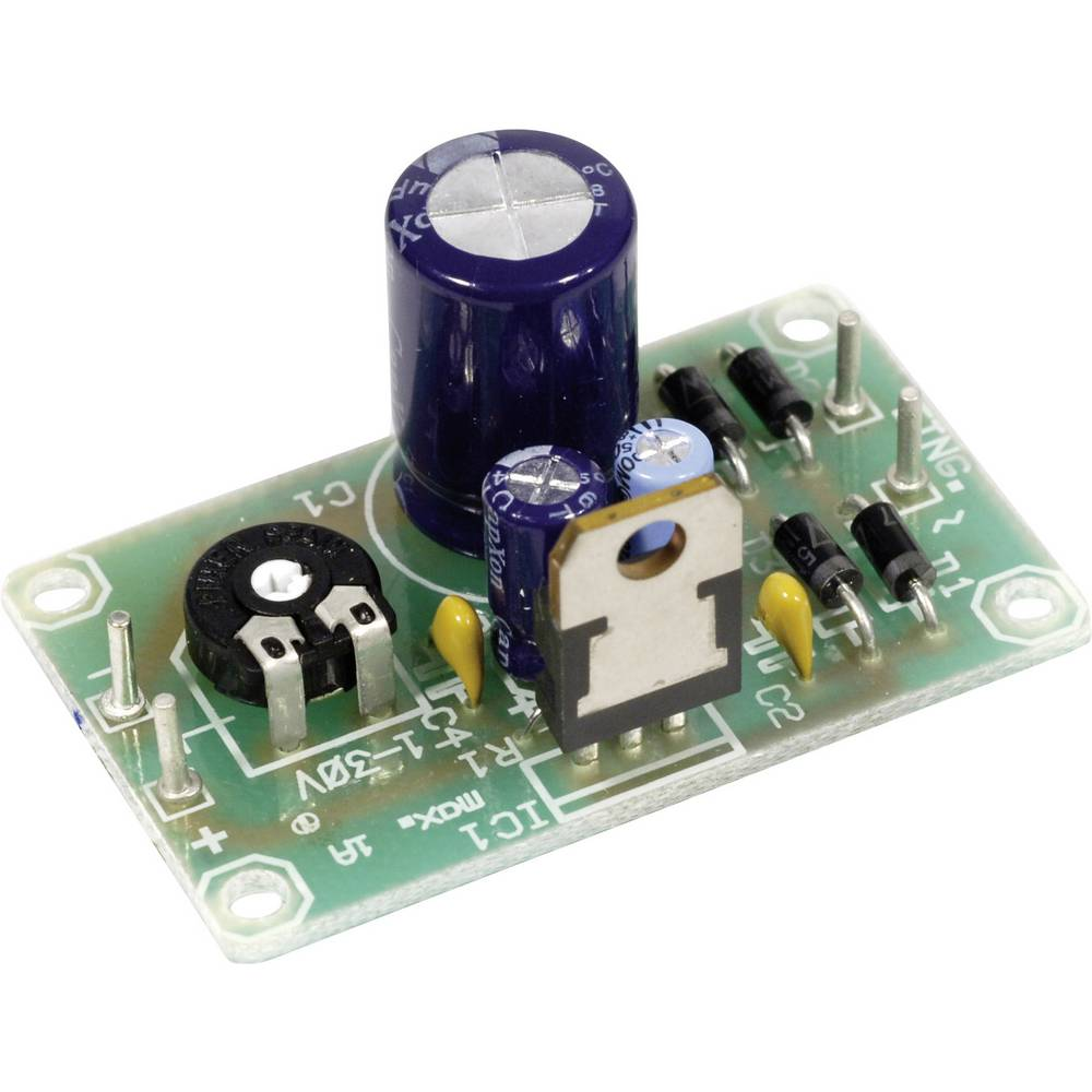 Voltage Regulator Pcb 115967 From Four Powersupply Circuitsfixed Ac