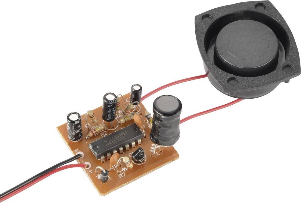 Pogon za sirenu Conrad 110 dB, 6 12 V/DC Komplet za sastavljanje