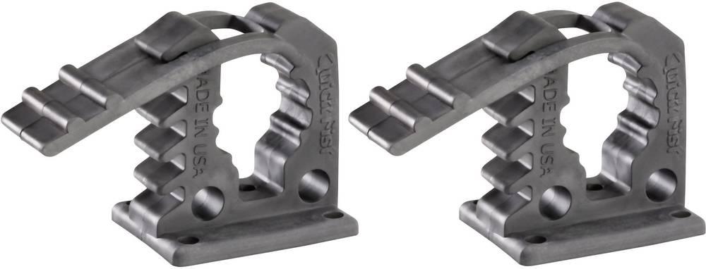 Quick Fist® apparathållare för fordon mini 2-pack Spännområde 12,7 till 25,4 mm · Max. 11 kg per hållare · 5 fästhål för skruvar