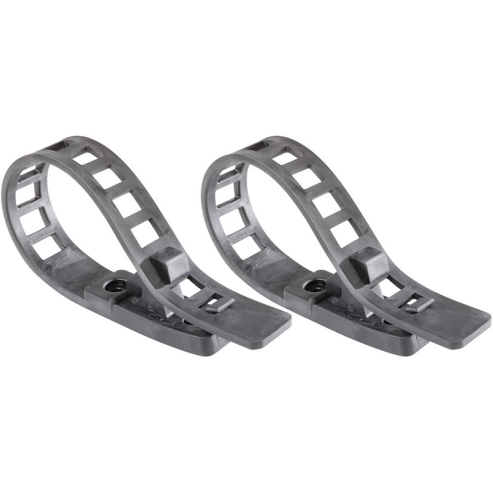 QuickFist Quick Fist® bil-udstyrsholder Long Arm pakke med 2 stk. Spændvidde: 13 do 114 mm · Max. 23 kg pr. holder · 2 fastgørin