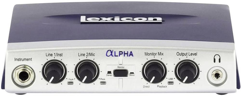 Avdio vmesnik Lexicon Alpha Studio LEXAlpha