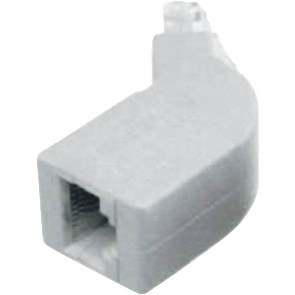 ISDN-terminalna odpornost, adapter, kotni 2 x 100 Natur vsebuje: 1 kos