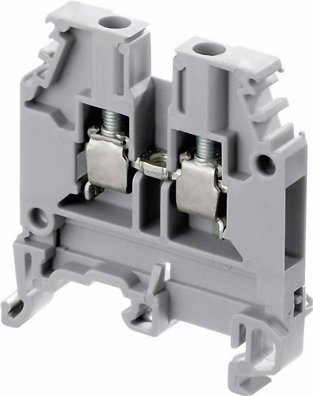Gennemgangsklemme 12 mm Skruer Belægning: L Grå ABB 1SNA 115 118 R1100 1 stk